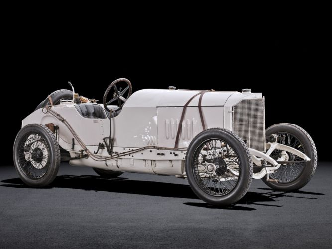 1914 Mercedes Benz 115 PS Grand Prix Racing race retro wallpaper