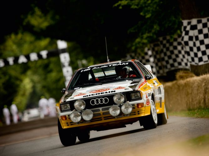 1983-85 Audi quattro Group-B Rally Car (Typ-85) wrc race racing wallpaper