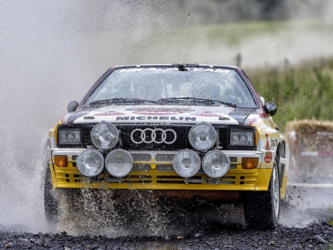 1983-85 Audi quattro Group-B Rally Car (Typ-85) wrc race racing wallpaper