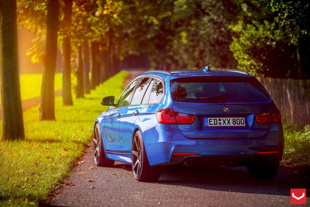 vossen wheels tuning BMW 3-Series wallpaper