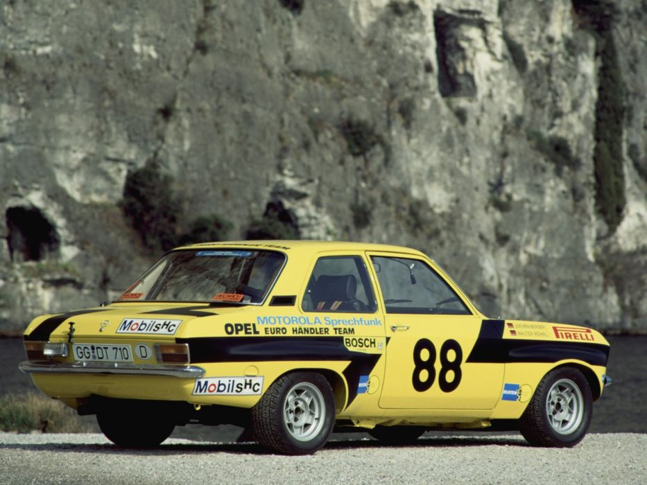 1973-75 Opel Ascona S-R Rally Version-A race racing wrc wallpaper