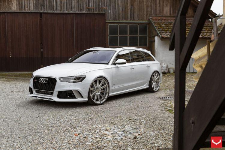 vossen wheels tuning Audi RS6 wallpaper