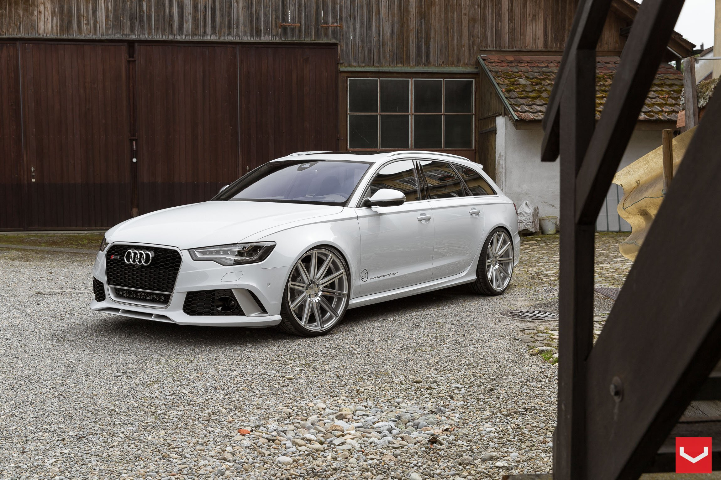 vossen wheels tuning audi rs6 wallpaper 2300x1533 483856 wallpaperup. Black Bedroom Furniture Sets. Home Design Ideas