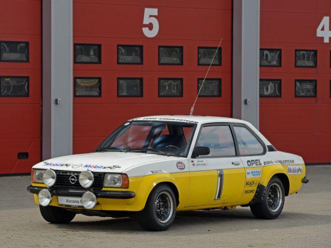 1979 Opel Ascona Group-2 Rally version-B wrc race racing wallpaper