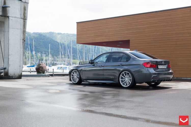 vossen wheels tuning BMW 3-Series wallpaper