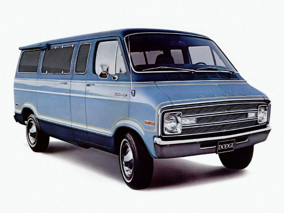 1977 Dodge Royal Sportsman Wagon van classic wallpaper