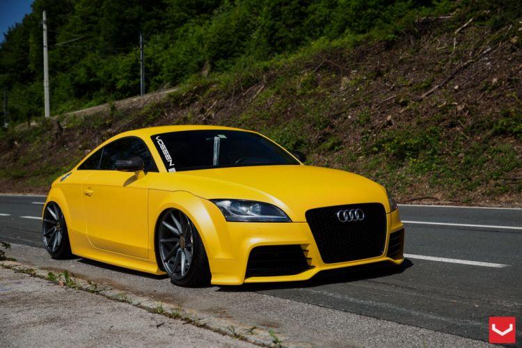 vossen wheels tuning Audi-TT wallpaper