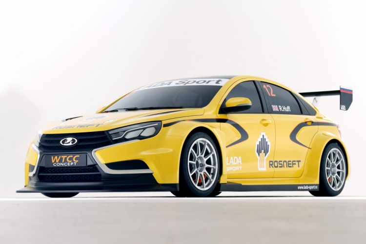 2015 Lada Vesta WTCC Concept race racing wallpaper