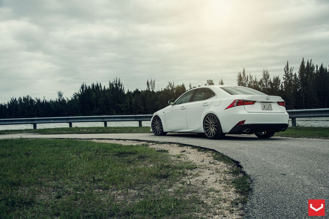 vossen wheels tuning Lexus-IS wallpaper