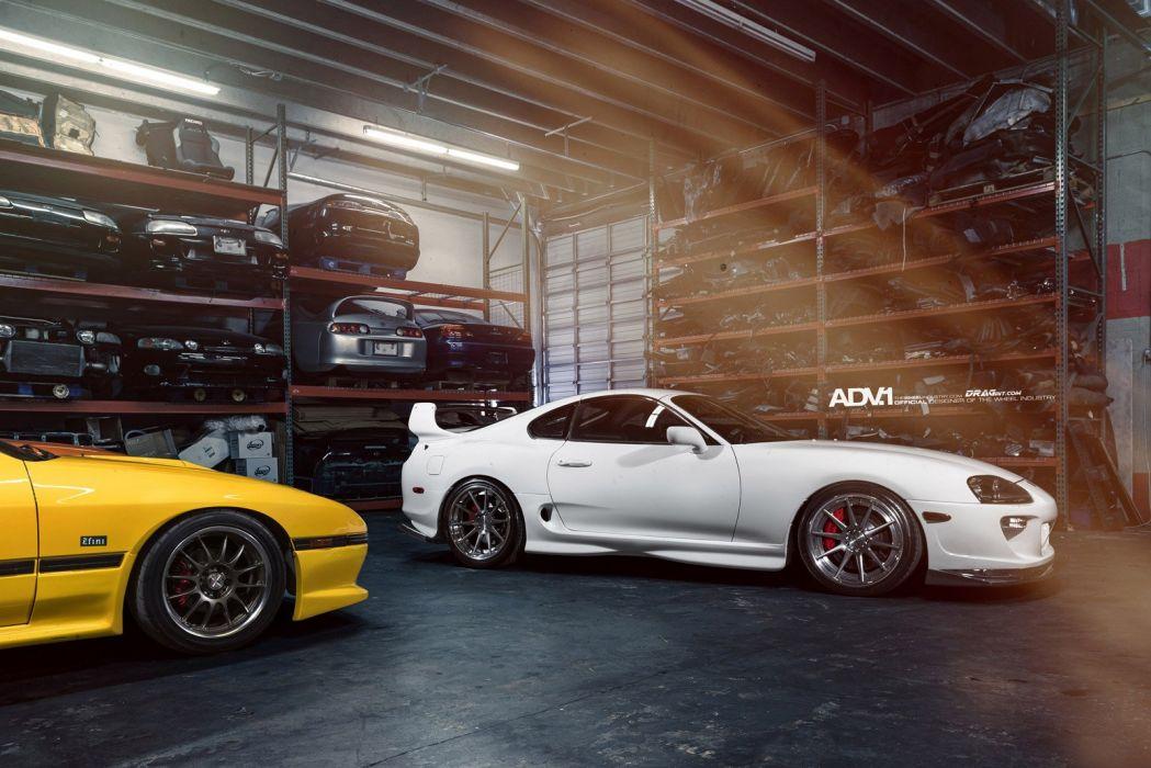 2014 ADV1 wheels toyota supra tuning cars wallpaper