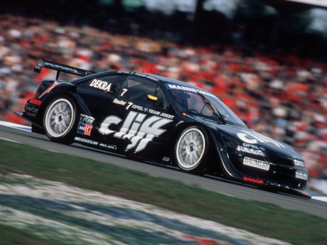 1994-96 Opel Calibra V-6 DTM race racing wallpaper