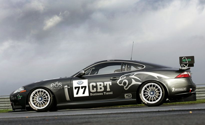 2007 Jaguar XKR GT3 race racing wallpaper