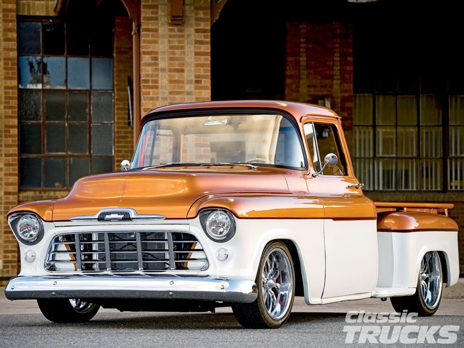 1956 Chevrolet 3100 Pickup hot rod rods wallpaper