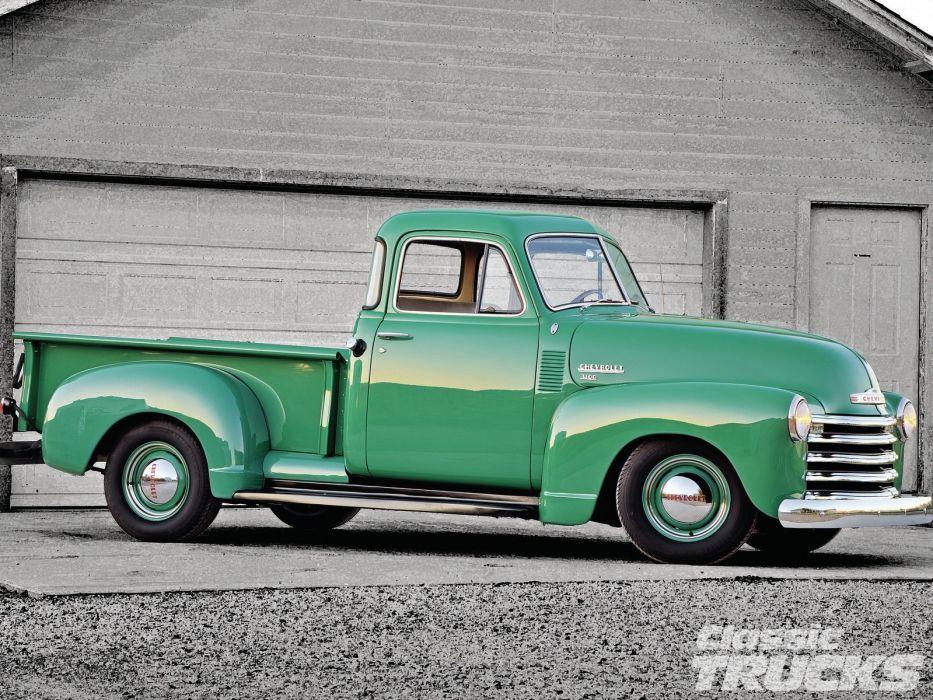 1951 Chevrolet 3100 Pickup retro wallpaper