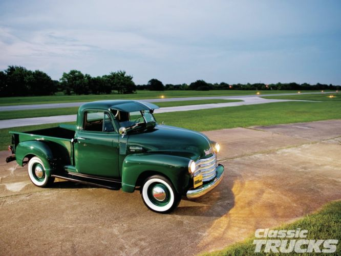 1951 Chevrolet 3100 Pickup retro wallpaper