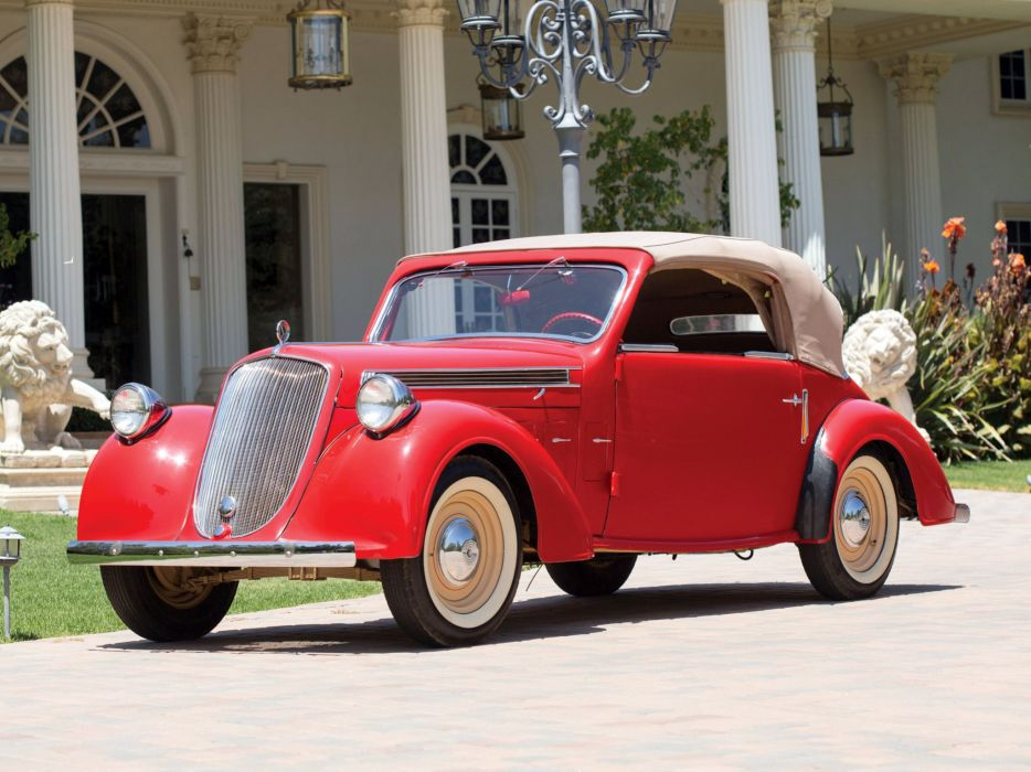 1937-40 Steyr 220 Cabriolet retro wallpaper
