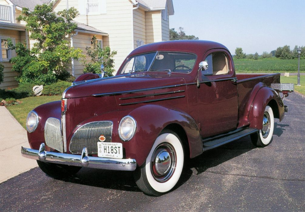 1939 Studebaker L-5 Coupe-Express pickup retro wallpaper