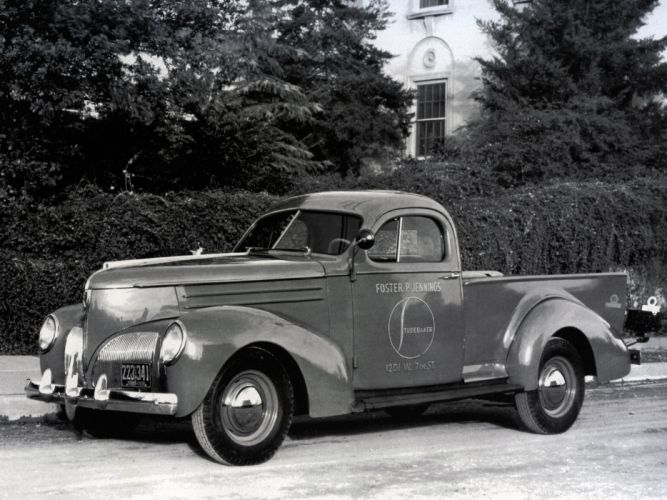 1939 Studebaker L-5 Coupe-Express pickup retro wallpaper