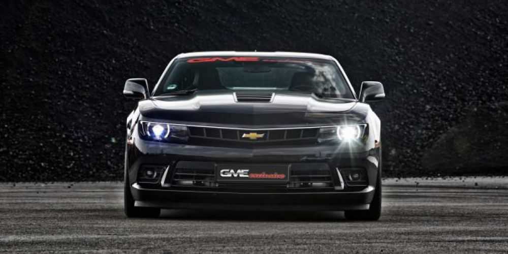 2014 Chevrolet Camaro S-S GME-Exclusive muscle hot rod rods tuning wallpaper