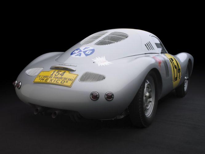 1953 Porsche 550 Coupe Carrera Panamericana le-mans race racing retro wallpaper