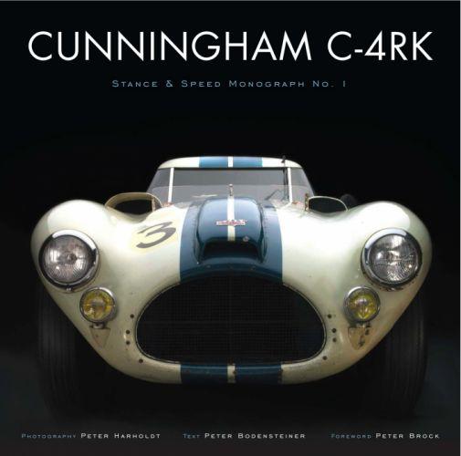 1952 Cunningham C-4RK race racing retro wallpaper