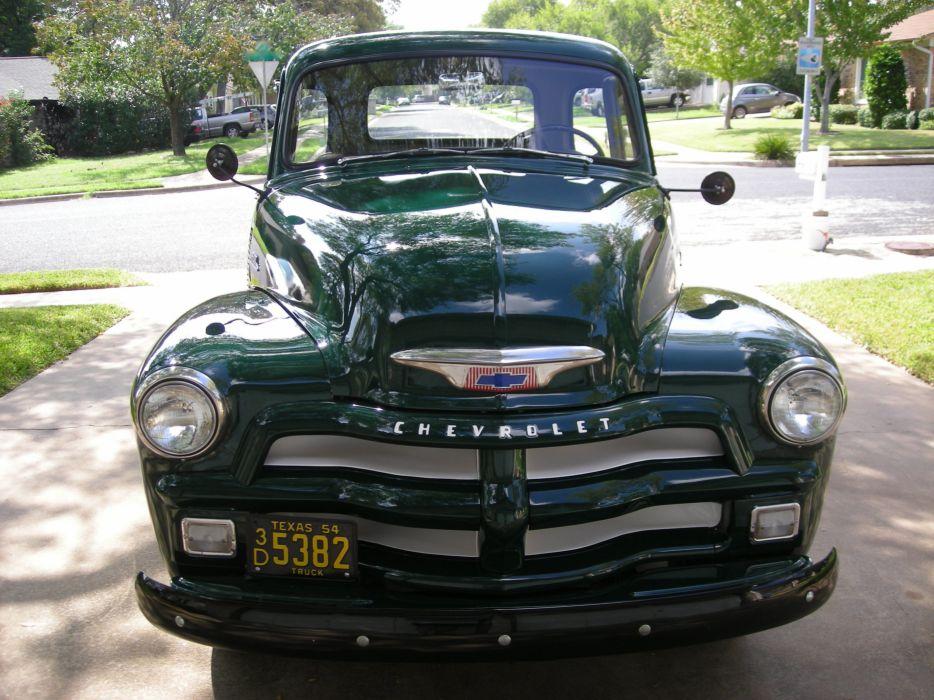 1954 Chevrolet 3100 Pickup retro wallpaper