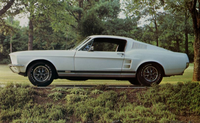 1967 Ford Mustang GTA Fastback muscle classic wallpaper