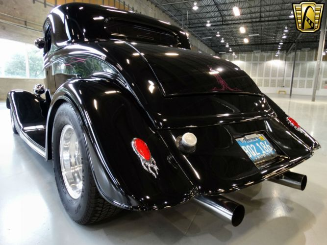 1934 Ford 3-Window Coupe hot rod rods retro wallpaper