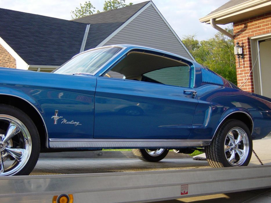 1967 Ford Mustang Fastback muscle classic wallpaper