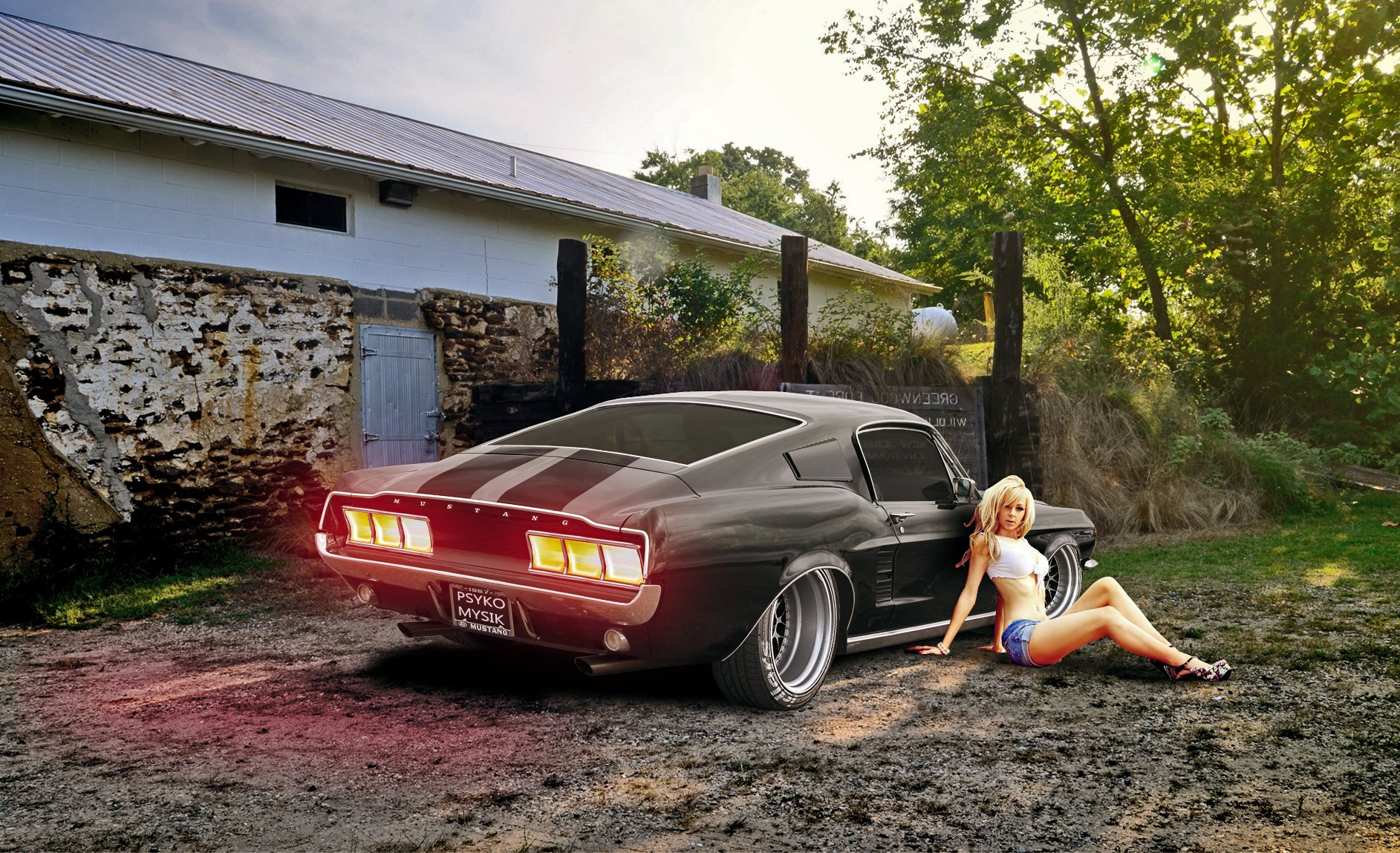 1967 ford mustang fastback muscle classic hot rod rods wallpaper 1885x1149 484399 wallpaperup