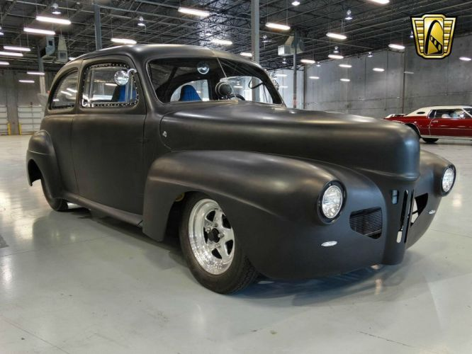 1941 Ford Sedan Prostreet hot rod rods drag race racing retro wallpaper
