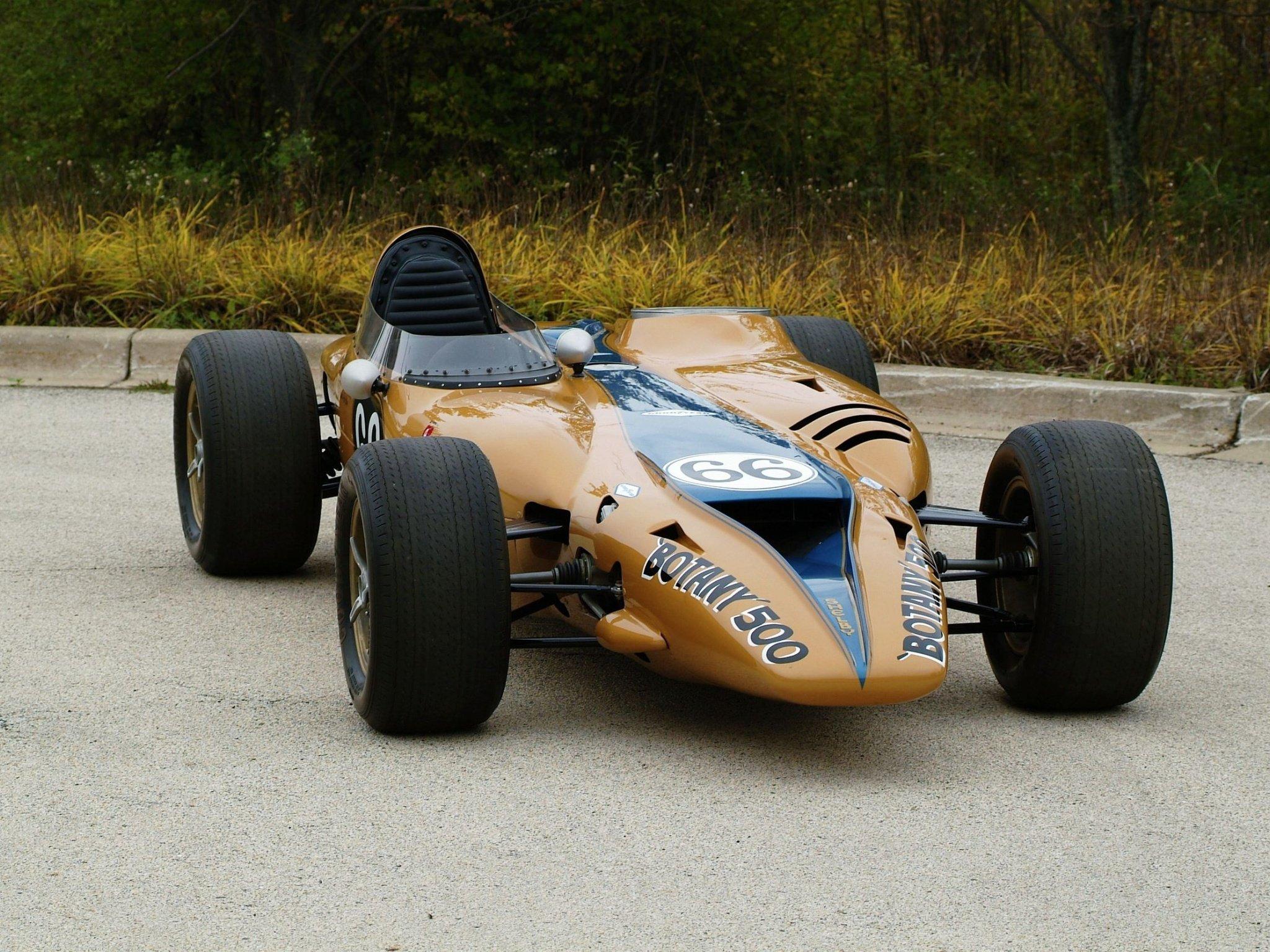 1968 Shelby Turbine Indy Car wallpaper