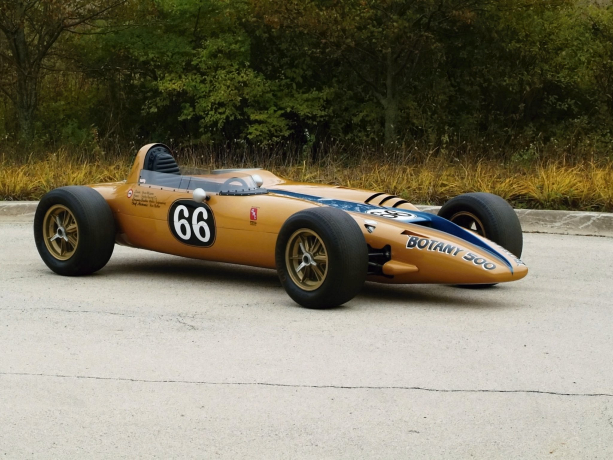 1968 Shelby Turbine Indy Car wallpaper