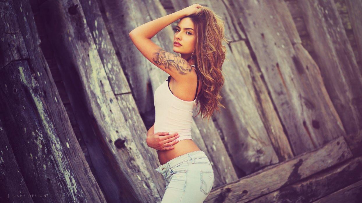 Beautiful Beauty Fashion Girl Mode Model Models Portrait  wallpaper