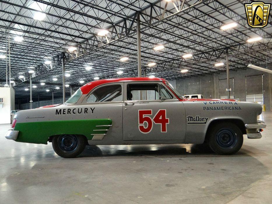1954 Mercury Monterey race racing panamericana retro wallpaper