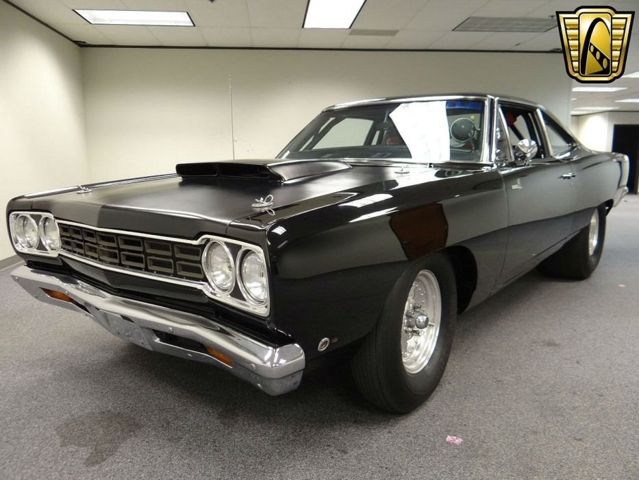 1968 Plymouth Road Runner drag racing race hot rod rods muscle wallpaper