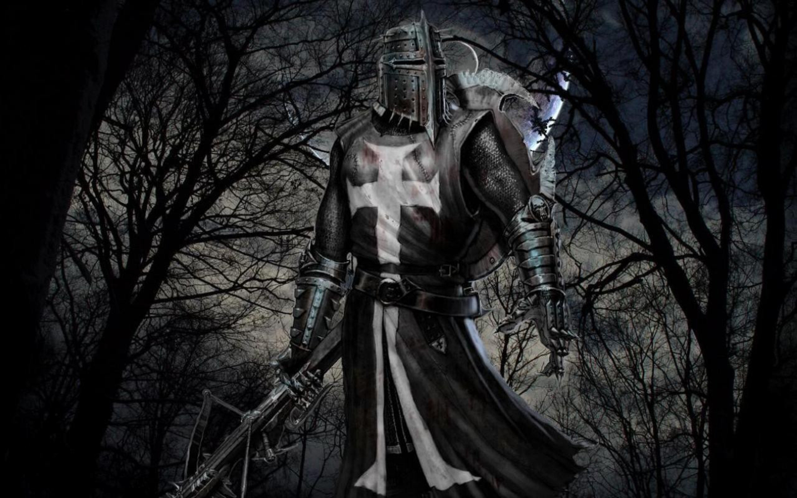DARK KNIGHT - medieval armor bow wallpaper | 2560x1600 | 484914 ...