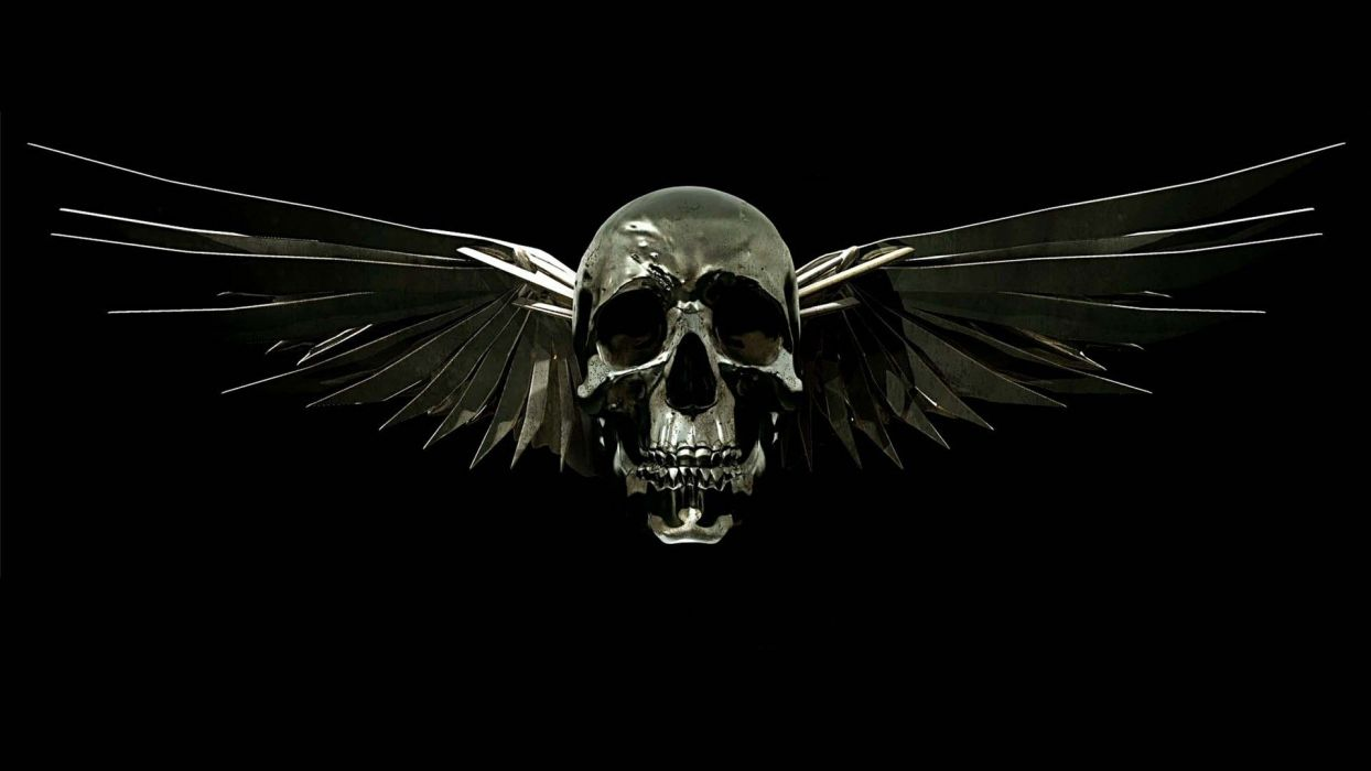EXPENDABLES - movie skull wings wallpaper