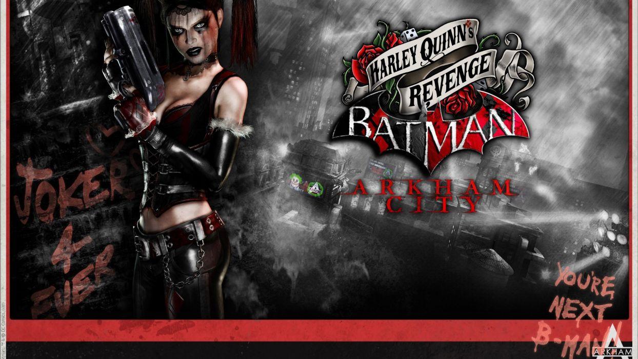 HARLEY QUINN - batman arkham revenge heroes wallpaper