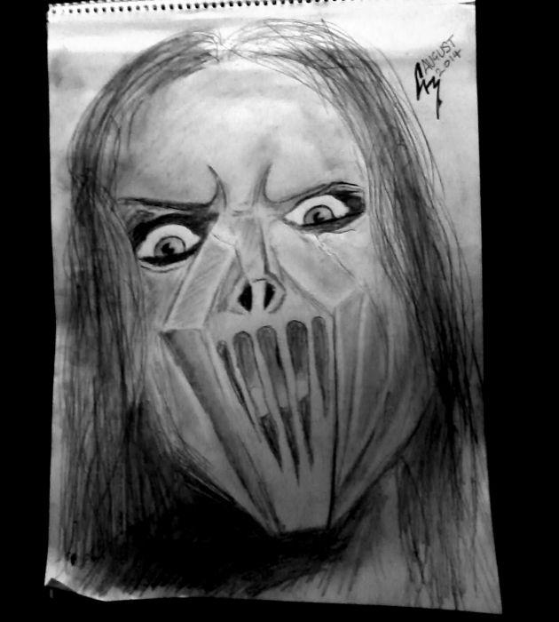 Mick Thompson of Slipknot wallpaper