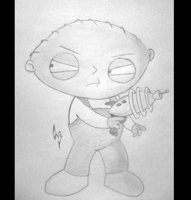 Stewie from Family Guy wallpaper