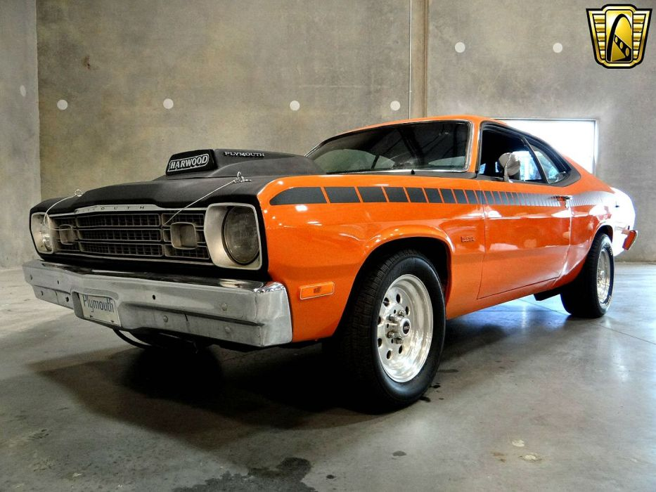 1974 Plymouth Duster AAR Tribute hot rod rods muscle wallpaper