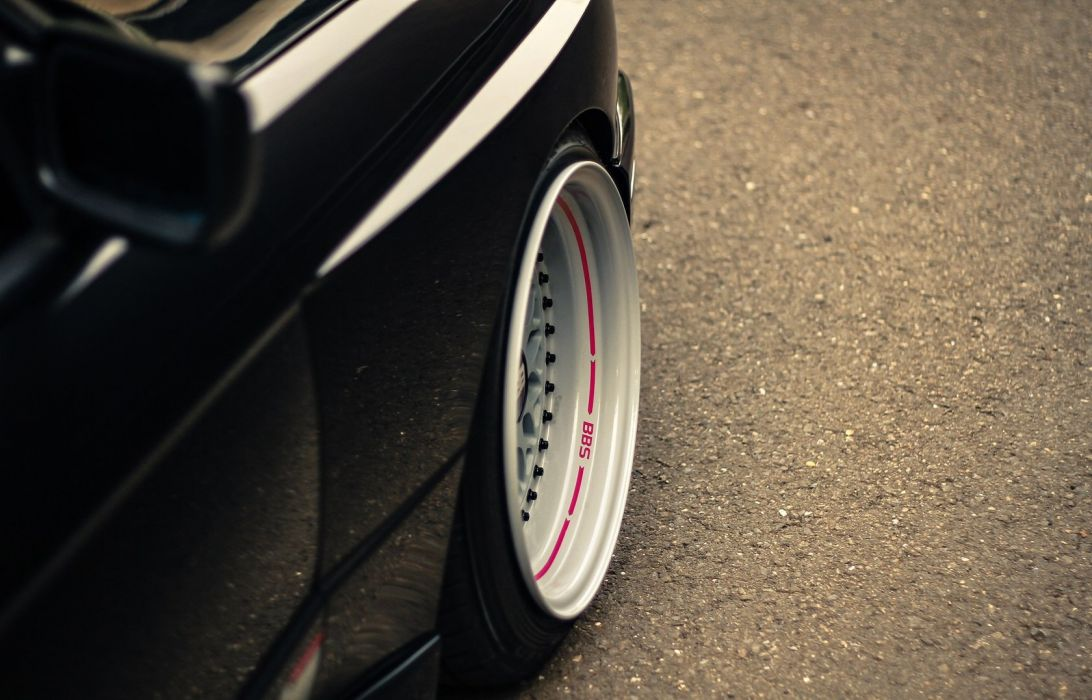 BMW e30 BBS wallpaper