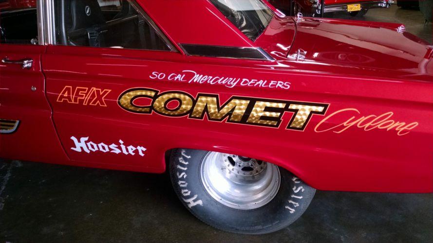 1965 Comet Cyclone Gasser drag racing race hot rod rods wallpaper
