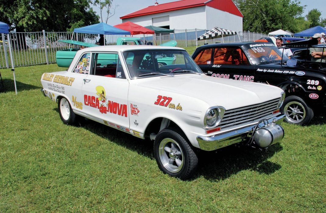 GASSER drag racing race hot rod rods wallpaper