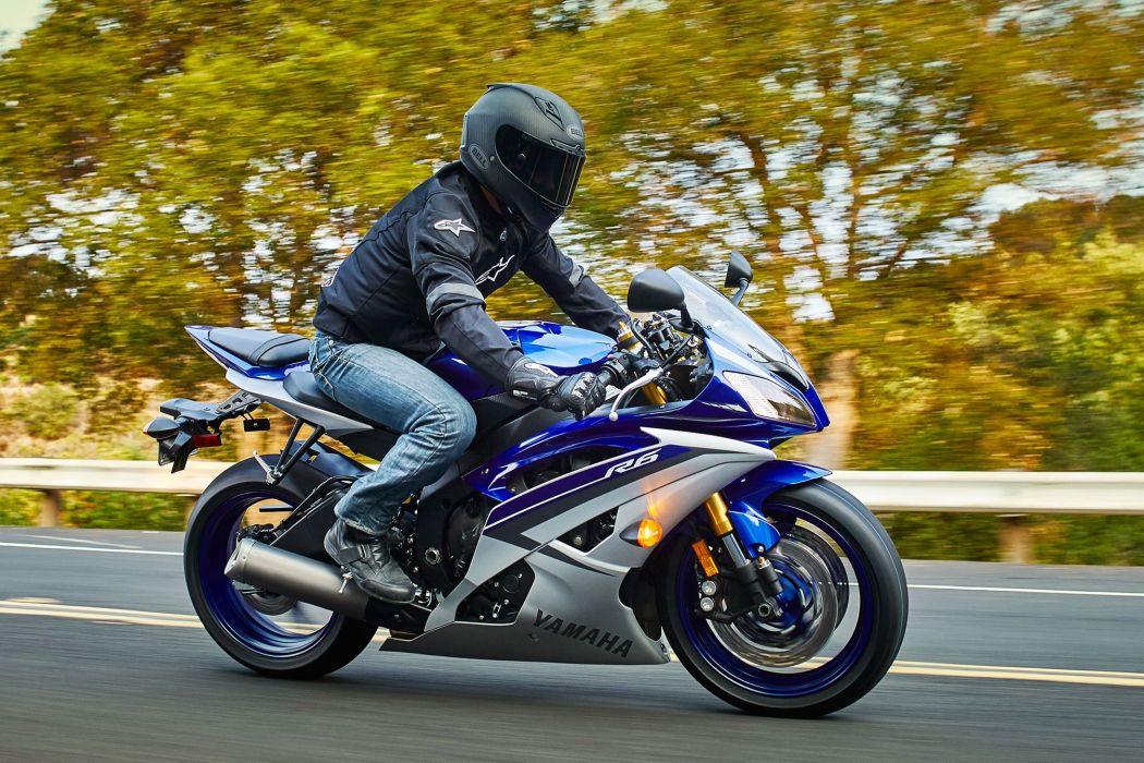 2015 Yamaha YZF-R6 motorbike bike wallpaper