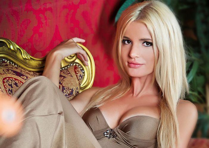 blonde model beauty woman wallpaper