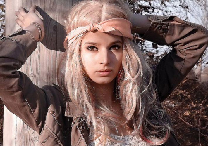 blonde model women woman wallpaper