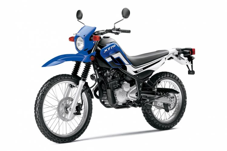 2015 Yamaha XT250 dirtbike wallpaper
