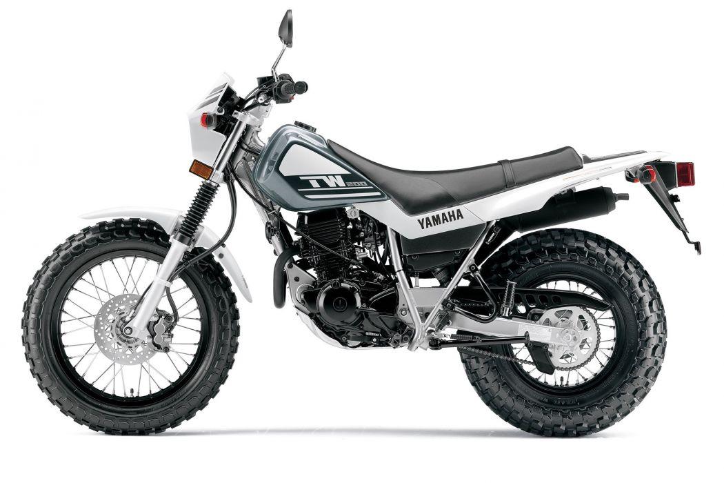 2015 Yamaha TW200 dirtbike wallpaper